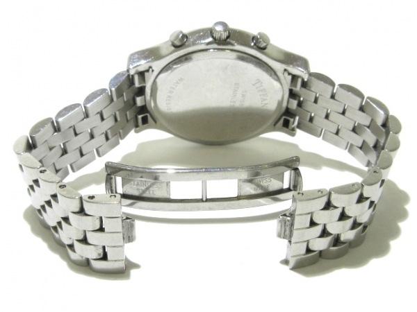 TIFFANY&Co.(ティファニー) 腕時計 クラシック - メンズ SS/クロノグラフ 白