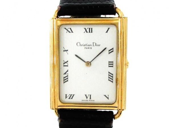 ChristianDior(ディオール) 腕時計 59.122 レディース アイボリー