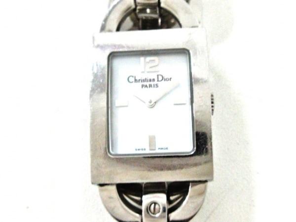 ChristianDior(ディオール) 腕時計 マリススクエア D78-109 レディース 白