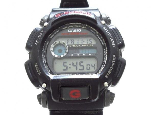 CASIO(カシオ) 腕時計 G-SHOCK DW-9052 メンズ 黒