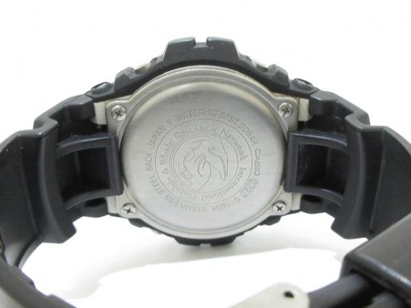 CASIO(カシオ) 腕時計 G-SHOCK G-100K メンズ 黒