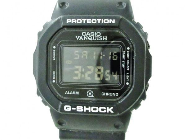 CASIO(カシオ) 腕時計美品  G-SHOCK DW-5600VT メンズ 黒