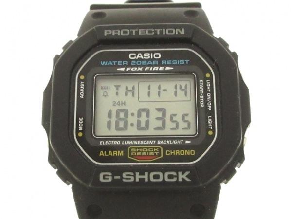 CASIO(カシオ) 腕時計 G-SHOCK DW-5600E メンズ 黒