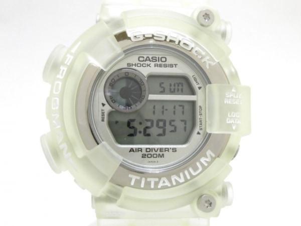 CASIO(カシオ) 腕時計美品  G-SHOCK DW-8201WC メンズ シルバー