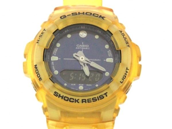 CASIO(カシオ) 腕時計美品  G-SHOCK G-100K メンズ ダークネイビー