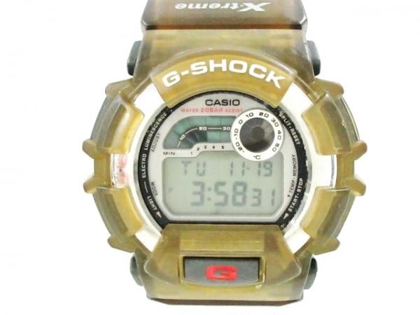 CASIO(カシオ) 腕時計 G-SHOCK DW-9500 メンズ シルバー