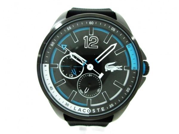Lacoste(ラコステ) 腕時計美品  LC.91.1.34.2740 メンズ 黒