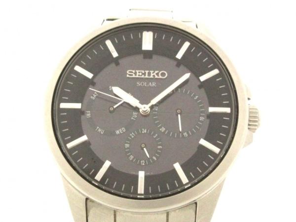 SEIKO(セイコー) 腕時計美品  V14J-0AX0 メンズ 黒