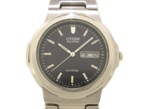 CITIZEN(シチズン) 腕時計美品  E100-K17837 メンズ 黒