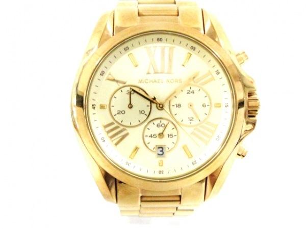 MICHAEL KORS(マイケルコース) 腕時計 MK-5605 メンズ ゴールド