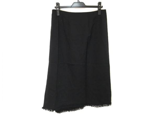 Burberry LONDON(バーバリーロンドン) ロングスカート レディース美品  黒