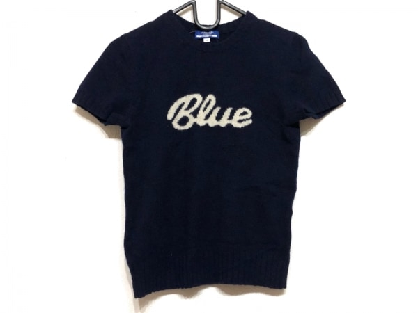 バーバリーブルーレーベル 半袖セーター サイズM レディース美品