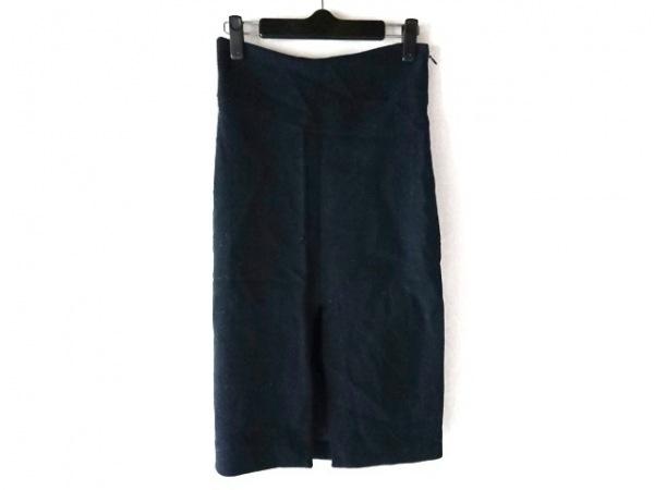 モスキーノ チープ&シック スカート サイズ42 M レディース ダークネイビー ラメ