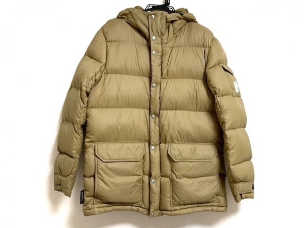 フェデリティー ダウンジャケット サイズXL メンズ美品  ブラウン ジップアップ/冬物