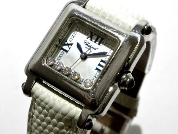 Chopard(ショパール) 腕時計 ハッピースポーツ スクエアミニ 27/8892-23 レディース