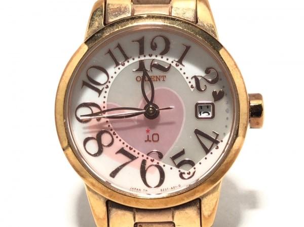 オリエント 腕時計 SZ3T-R0-B レディース シェル文字盤/ハート シェルホワイト