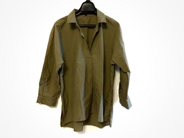 ANAYI(アナイ) 長袖シャツ サイズ38 M レディース カーキ プルオーバー/スキッパー