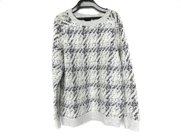 theory(セオリー) 長袖セーター サイズS レディース  白×黒×グレー