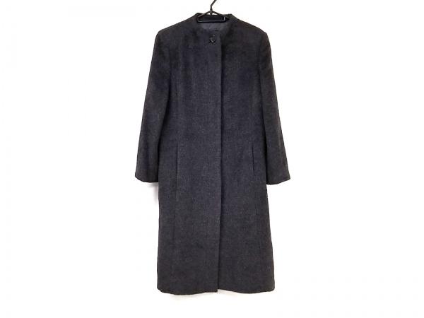 BALLSEY(ボールジー) コート レディース美品  ダークグレー 冬物/ロング丈