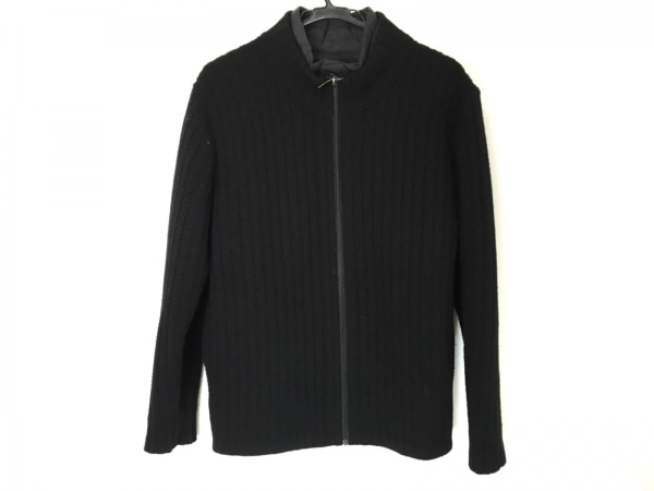 LANVIN COLLECTION(ランバンコレクション) ブルゾン サイズ50 XL メンズ 黒 冬物