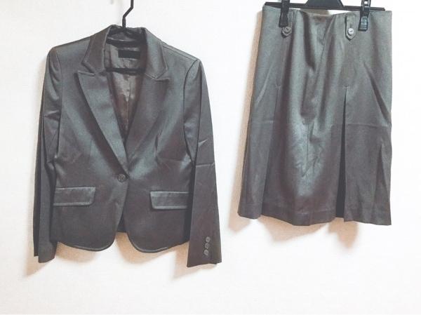 ICB(アイシービー) スカートスーツ レディース ダークブラウン