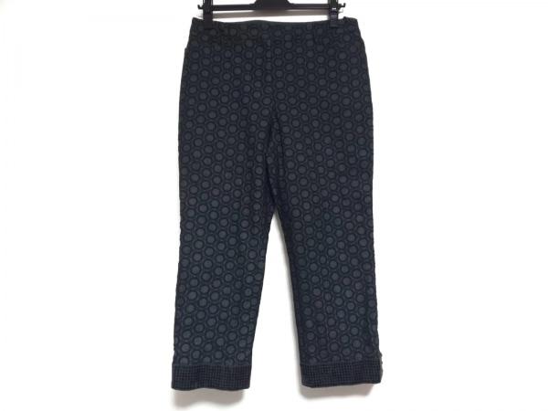 トゥービーシック パンツ サイズ44 L レディース ダークグレー×黒 スパンコール