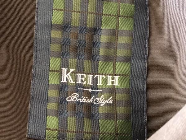 KEITH(キース) コート レディース美品  黒