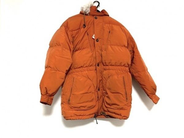 インターメッツォ ダウンコート サイズL メンズ - - オレンジ 長袖/冬/SPORTS