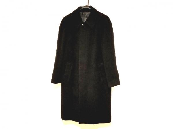 DURBAN(ダーバン) コート メンズ - 黒 長袖/ネーム刺繍/冬