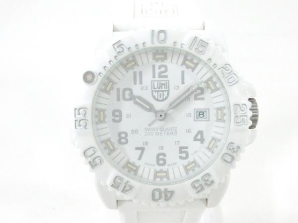 LUMINOX(ルミノックス) 腕時計美品  シールズ 3050/3950 メンズ 白