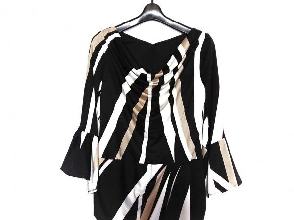 ピンキー&ダイアン ワンピース サイズ38 M レディース美品  黒×白×ベージュ