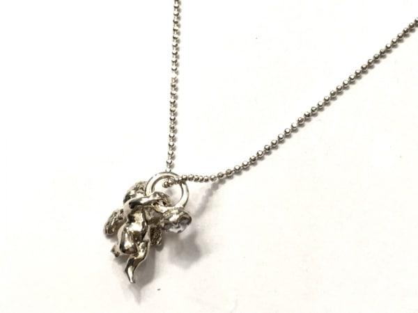 4℃(ヨンドシー) ネックレス美品  シルバー×ジルコニア ネックレス・リングセット