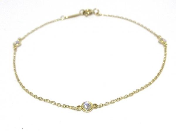 TIFFANY&Co.(ティファニー) ブレスレット新品同様  バイザヤード K18YG×ダイヤモンド