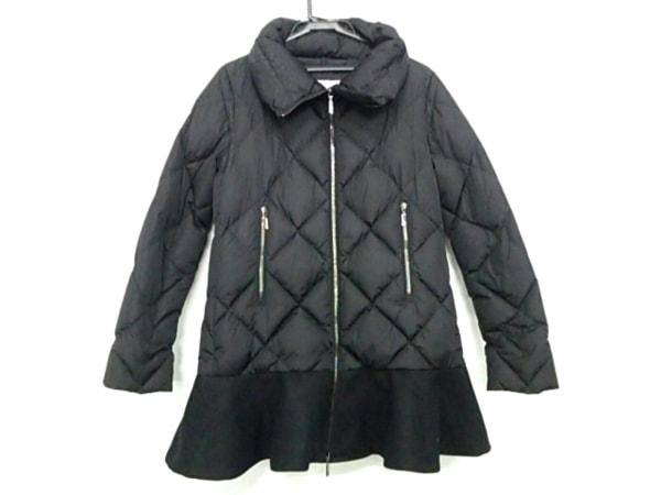 MONCLER(モンクレール) ダウンコート サイズ0 XS レディース VOUGLANS(ブーラン) 黒