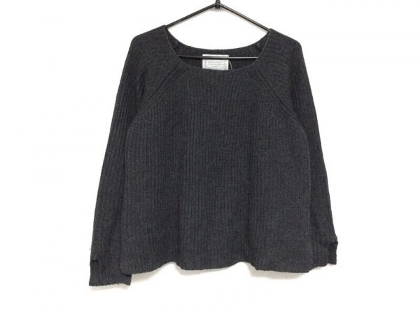 BEARDSLEY(ビアズリー) 長袖セーター サイズF レディース ダークグレー