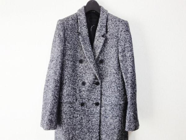 UNTITLED(アンタイトル) コート サイズ2 M レディース 黒×白 冬物