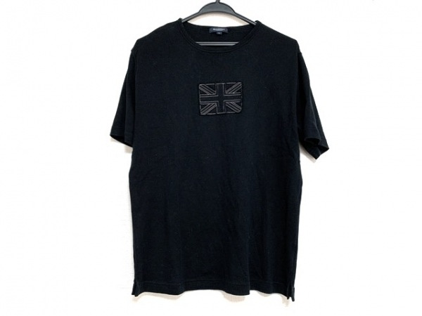 Burberry LONDON(バーバリーロンドン) 半袖Tシャツ サイズL メンズ美品  黒