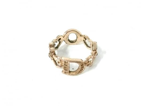 クリスチャンディオール リング 金属素材 ゴールド Diorモチーフ/サイズ:5
