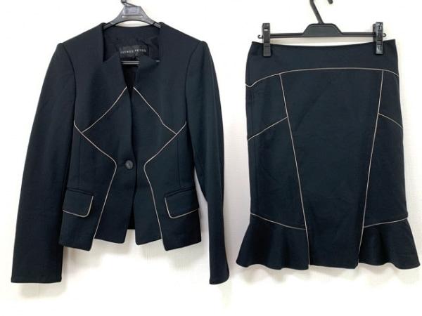CITRUS NOTES(シトラスノーツ) スカートスーツ サイズ40 M レディース 黒
