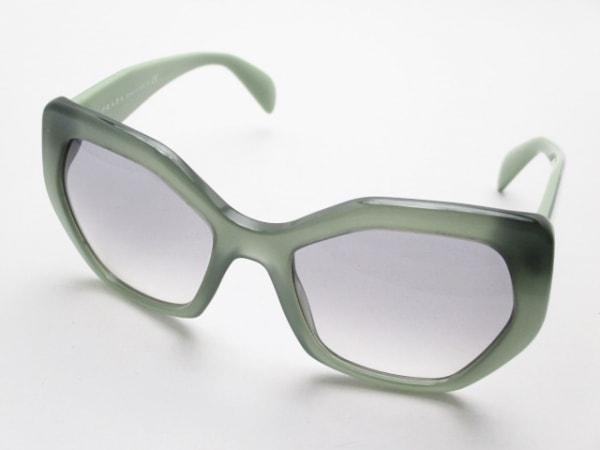 PRADA(プラダ) サングラス SPR16R グレー×グリーン プラスチック