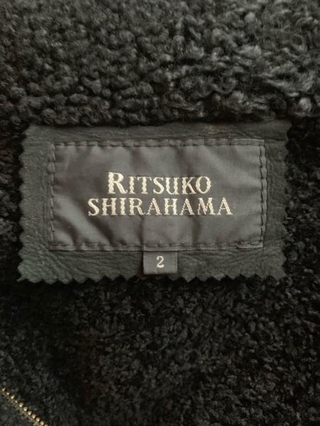 RITSUKO SHIRAHAMA(リツコシラハマ) コート サイズ2 M レディース ダークネイビー