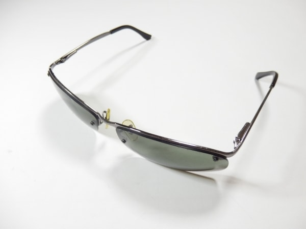 レイバン サングラス トップバー RB3183 黒×ダークグレー 金属素材×プラスチック