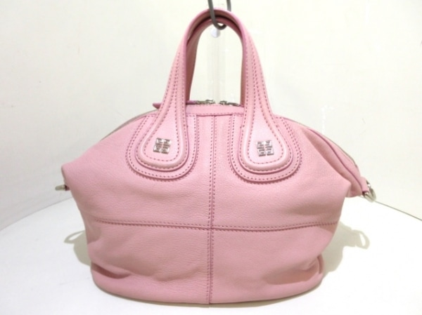 GIVENCHY(ジバンシー) ハンドバッグ ナイチンゲール ピンク レザー