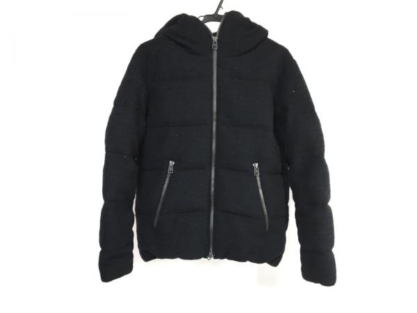 トゥモローランド ダウンジャケット サイズM レディース ネイビー×黒 冬物