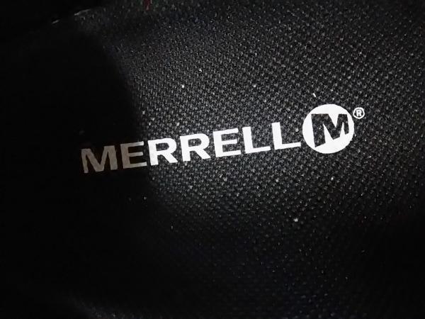MERRELL(メレル) スニーカー レディース 黒 スエード×化学繊維