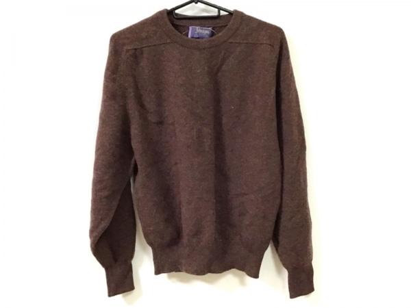 Johnstons(ジョンストンズ) 長袖セーター サイズ40 M レディース美品  ダークブラウン