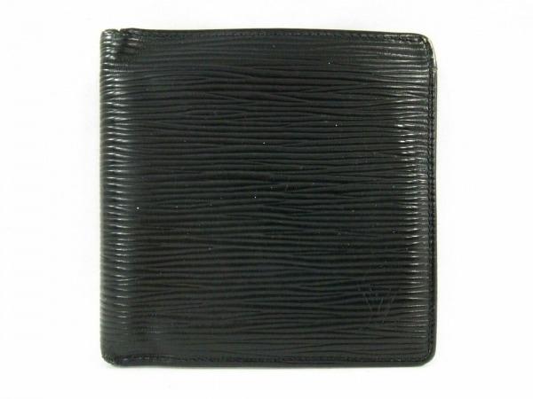 ルイヴィトン 2つ折り財布 エピ ポルト ビエ・カルト クレディ モネ M63542 ノワール