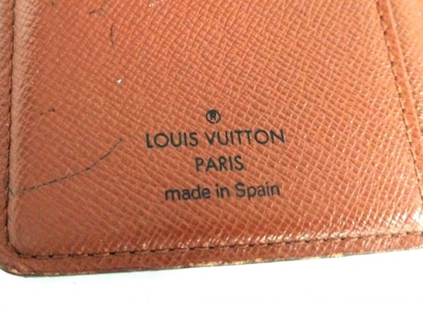 LOUIS VUITTON(ルイヴィトン) 手帳 モノグラム アジェンダPM R20005 4