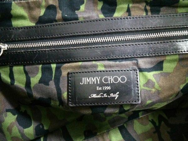 JIMMY CHOO(ジミーチュウ) トートバッグ サラ 黒 スターエンボス レザー