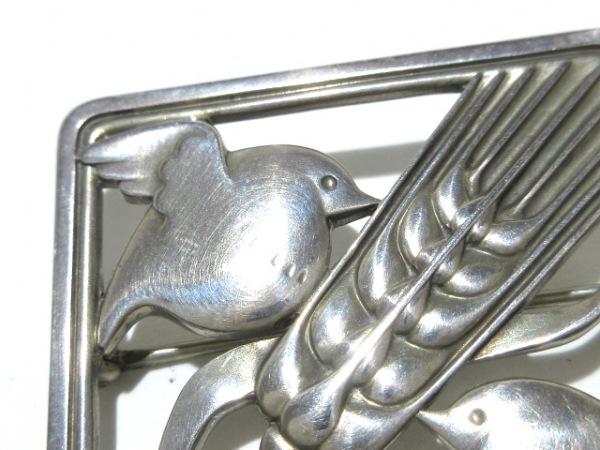 GEORG JENSEN(ジョージジェンセン) ブローチ 250 シルバー 鳥